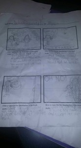 Jackie's Journey Storyboard by Alyssa Ball